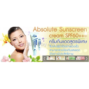 Absolute Sunscreen cream   SPF60+++