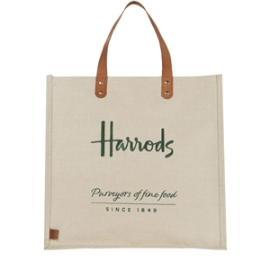 กระเป๋า Harrods Jute Grocery Bag แท้ 100%  *Best Seller*