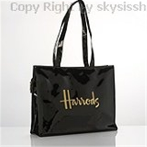 กระเป๋า Harrods แท้ 100% Signature Shoulder bag(black)