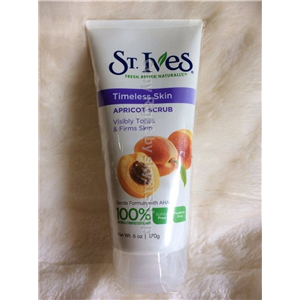 ST.IVES Apricot Scrub Visibly Tones & Firms Skin Timeless Skin 200ml.