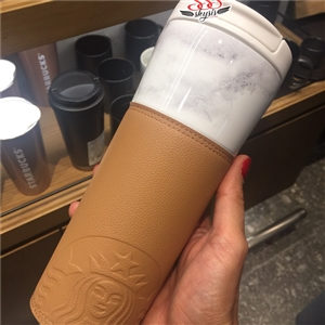 LIMITED EDITION: Starbucks Tumbler Stanless 16oz/475ml. พร้อมถุง from Korea