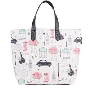 กระเป๋า Harrods Small City Style Print Tote Bag แท้ 100%  *BEST SELLER*