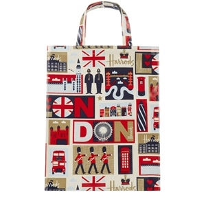กระเป๋า Harrods Medium Iconic London Shopper Bag แท้ 100%